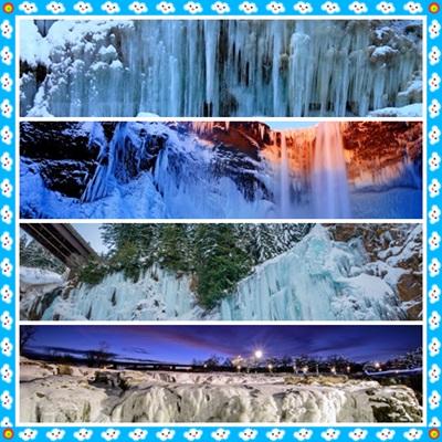 0.jpg - 瀑布被冰凍了