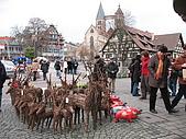 德國聖誕市集Esslingen, Stuttgart:120107_Esslingen一入城就有小鹿集
