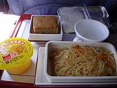 2009.10.01 香港四天三夜自由行 1Day:飛機ㄉ餐點