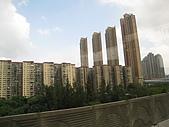 2009.10.01 香港四天三夜自由行 1Day:他們ㄉ大廈,都好窄!