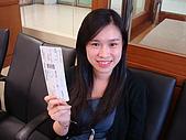 2009.10.01 香港四天三夜自由行 1Day:和機票ㄉ合照