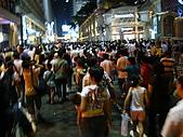 2009.10.01 香港四天三夜自由行 1Day:散場人多多