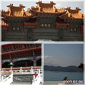 2009到處吃到處玩(1-2月):日月潭 文武廟2cats.jpg