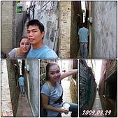 2009年到處玩(7-8月):鹿港 摸乳巷cats.jpg