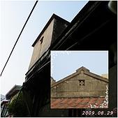 2009年到處玩(7-8月):鹿港 閩氏建築cats.jpg