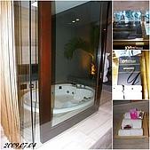 2009年到處玩(7-8月):基隆行 悅池 浴室cats.jpg