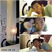 2009年到處玩(7-8月):高雄 旅館內cats.jpg