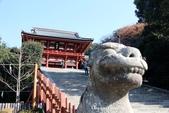 日本 鐮倉江之島:1013.jpg神社前守護獅跟台灣長的不一樣捏