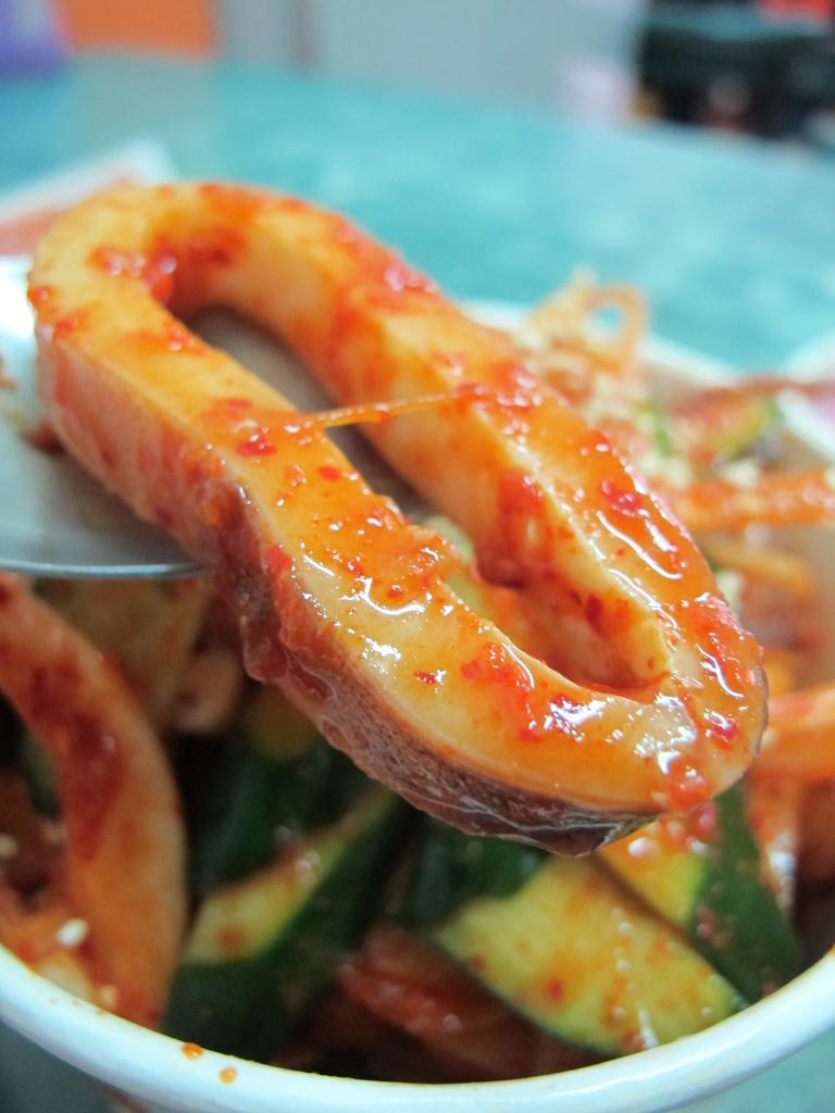【永和】韓一館平價韓式料理。推蔬菜拌飯&涼拌魷魚:IMG_4814.JPG