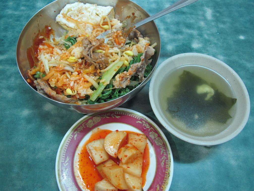 【永和】韓一館平價韓式料理。推蔬菜拌飯&涼拌魷魚:IMG_4809.JPG