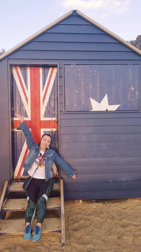 20190213_195430.jpg - 【澳洲.墨爾本】2019免費景點。Brighton Beach Bath Boxes 海邊彩色小屋