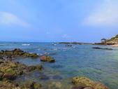 【台北】北海岸石門洞景點。美麗的貝殼砂海灘。熱門觀看夕陽&潮間帶景點:IMG_9613.JPG