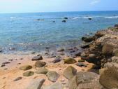 【台北】北海岸石門洞景點。美麗的貝殼砂海灘。熱門觀看夕陽&潮間帶景點:IMG_9669.JPG