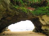 【台北】北海岸石門洞景點。美麗的貝殼砂海灘。熱門觀看夕陽&潮間帶景點:IMG_9562.JPG