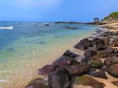 【台北】北海岸石門洞景點。美麗的貝殼砂海灘。熱門觀看夕陽&潮間帶景點:IMG_9646.JPG