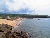 【台北】北海岸石門洞景點。美麗的貝殼砂海灘。熱門觀看夕陽&潮間帶景點:IMG_9679.JPG