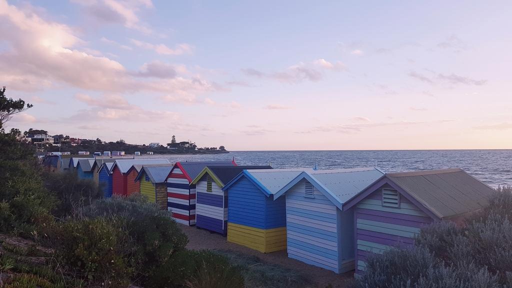 20190213_195514.jpg - 【澳洲.墨爾本】2019免費景點。Brighton Beach Bath Boxes 海邊彩色小屋