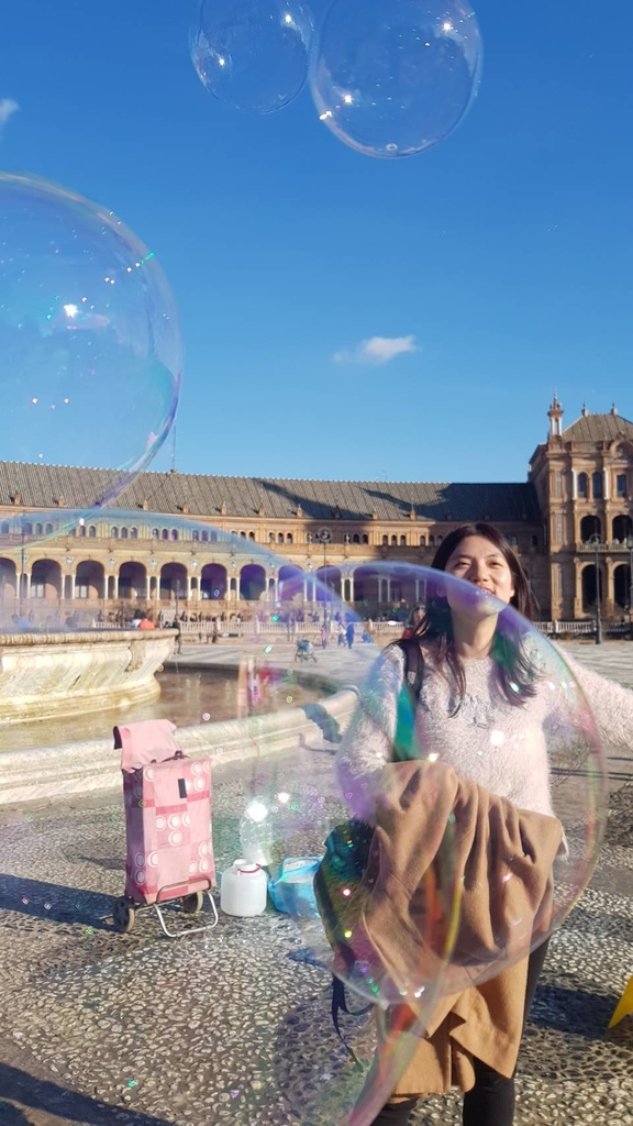 133212.jpg - 【西班牙.賽維亞】2020Sevilla西班牙廣場划10歐小船不限時間。假日觀賞佛朗明哥街頭藝人表演