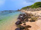 【台北】北海岸石門洞景點。美麗的貝殼砂海灘。熱門觀看夕陽&潮間帶景點:IMG_9644.JPG