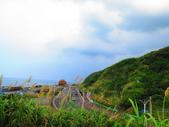 【台北】北海岸石門洞景點。美麗的貝殼砂海灘。熱門觀看夕陽&潮間帶景點:IMG_9525.JPG