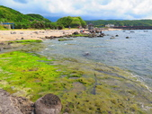 【台北】北海岸石門洞景點。美麗的貝殼砂海灘。熱門觀看夕陽&潮間帶景點:IMG_9717.JPG