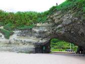 【台北】北海岸石門洞景點。美麗的貝殼砂海灘。熱門觀看夕陽&潮間帶景點:IMG_9567.JPG