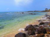 【台北】北海岸石門洞景點。美麗的貝殼砂海灘。熱門觀看夕陽&潮間帶景點:IMG_9649.JPG