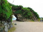 【台北】北海岸石門洞景點。美麗的貝殼砂海灘。熱門觀看夕陽&潮間帶景點:IMG_9560.JPG