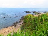 【台北】北海岸石門洞景點。美麗的貝殼砂海灘。熱門觀看夕陽&潮間帶景點:IMG_9526.JPG