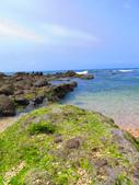 【台北】北海岸石門洞景點。美麗的貝殼砂海灘。熱門觀看夕陽&潮間帶景點:IMG_9596.JPG