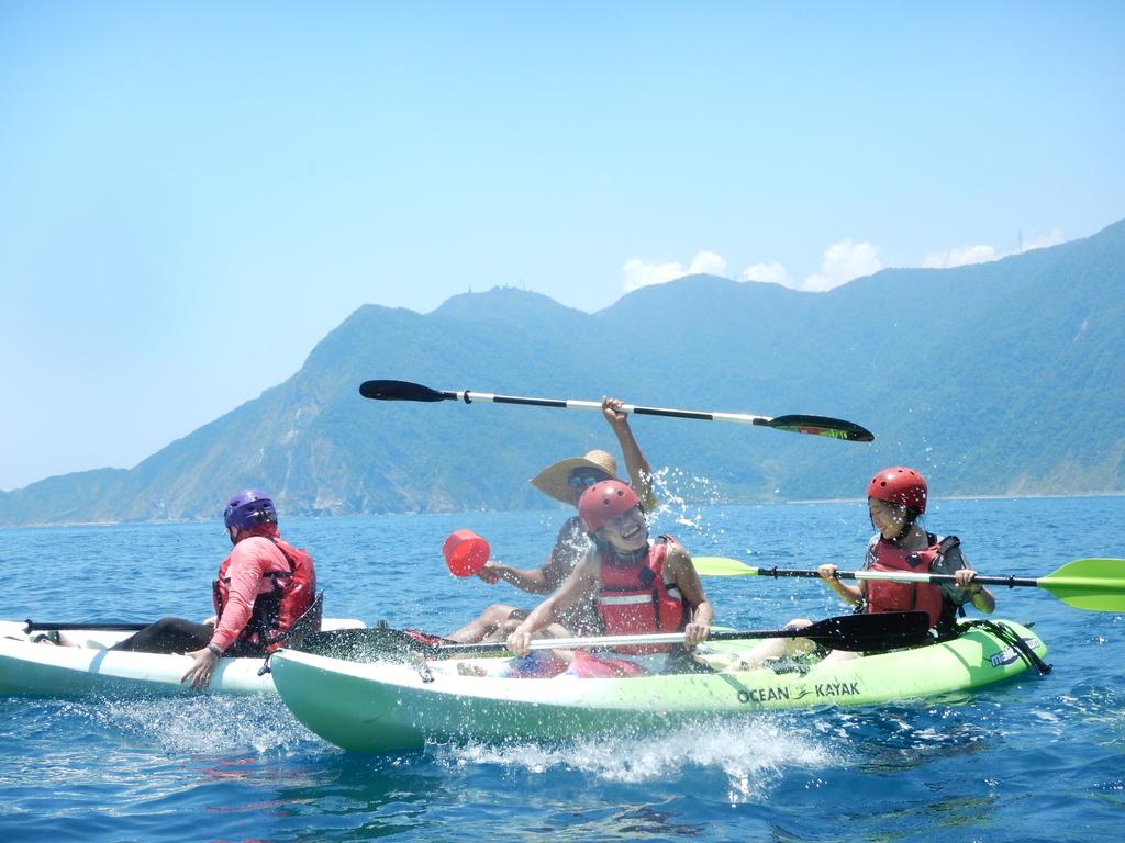 DSCN0617.JPG - 【宜蘭】南澳海蝕洞海上8k獨木舟初體驗+美到破表的私房沙灘。南洋峇里精油spa撰寫