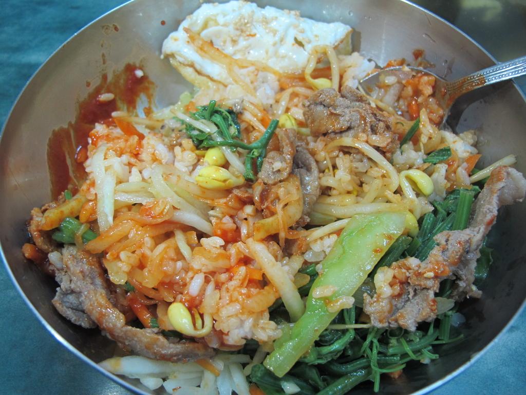 【永和】韓一館平價韓式料理。推蔬菜拌飯&涼拌魷魚:IMG_4806.JPG