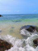 【台北】北海岸石門洞景點。美麗的貝殼砂海灘。熱門觀看夕陽&潮間帶景點:IMG_9654.JPG