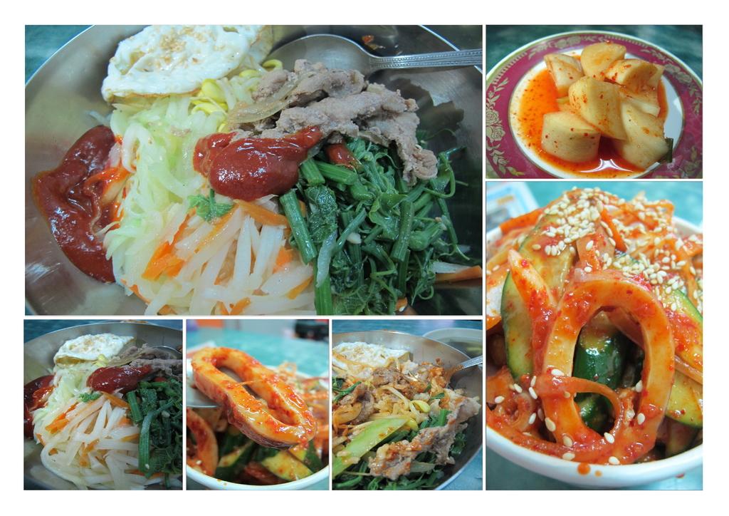 【永和】韓一館平價韓式料理。推蔬菜拌飯&涼拌魷魚:韓一館.jpg