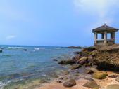 【台北】北海岸石門洞景點。美麗的貝殼砂海灘。熱門觀看夕陽&潮間帶景點:IMG_9667.JPG