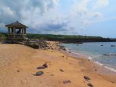 【台北】北海岸石門洞景點。美麗的貝殼砂海灘。熱門觀看夕陽&潮間帶景點:IMG_9670.JPG