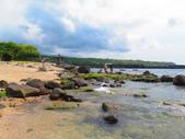 【台北】北海岸石門洞景點。美麗的貝殼砂海灘。熱門觀看夕陽&潮間帶景點:IMG_9696.JPG