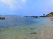 【台北】北海岸石門洞景點。美麗的貝殼砂海灘。熱門觀看夕陽&潮間帶景點:IMG_9640.JPG