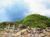 【台北】北海岸石門洞景點。美麗的貝殼砂海灘。熱門觀看夕陽&潮間帶景點:IMG_9662.JPG