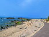 【台北】北海岸石門洞景點。美麗的貝殼砂海灘。熱門觀看夕陽&潮間帶景點:IMG_9690.JPG
