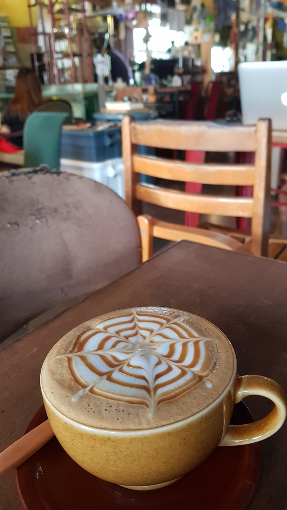 20190823_135339.jpg - 【台北.天母】午餐.晚餐下午茶推薦。ZABU老屋咖啡廳迷人的復古氣息。友善寵物咖啡廳