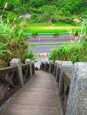 【台北】北海岸石門洞景點。美麗的貝殼砂海灘。熱門觀看夕陽&潮間帶景點:IMG_9517.JPG