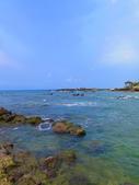【台北】北海岸石門洞景點。美麗的貝殼砂海灘。熱門觀看夕陽&潮間帶景點:IMG_9621.JPG