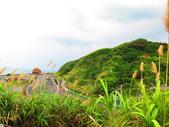 【台北】北海岸石門洞景點。美麗的貝殼砂海灘。熱門觀看夕陽&潮間帶景點:IMG_9522.JPG