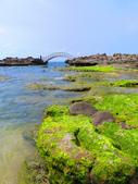 【台北】北海岸石門洞景點。美麗的貝殼砂海灘。熱門觀看夕陽&潮間帶景點:IMG_9697.JPG