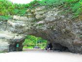 【台北】北海岸石門洞景點。美麗的貝殼砂海灘。熱門觀看夕陽&潮間帶景點:IMG_9565.JPG