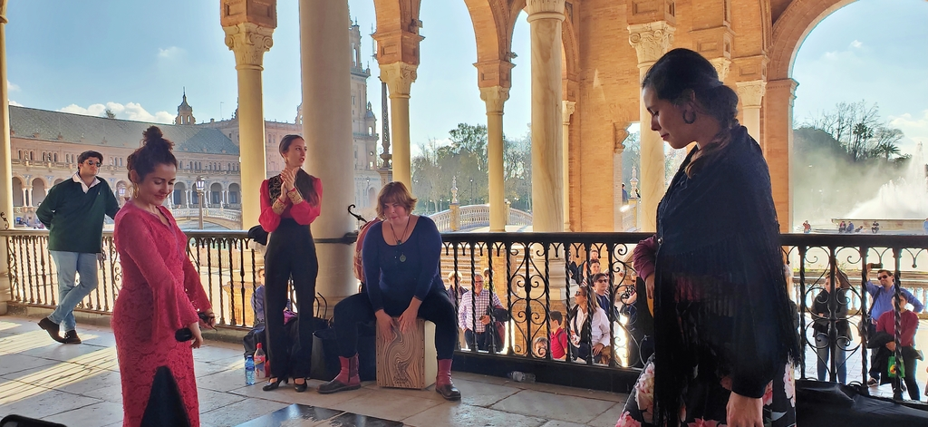 IMG20190121055523.jpg - 【西班牙.賽維亞】2020Sevilla西班牙廣場划10歐小船不限時間。假日觀賞佛朗明哥街頭藝人表演