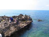 【台北】北海岸石門洞景點。美麗的貝殼砂海灘。熱門觀看夕陽&潮間帶景點:IMG_9735.JPG