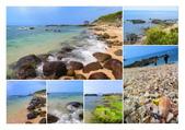 【台北】北海岸石門洞景點。美麗的貝殼砂海灘。熱門觀看夕陽&潮間帶景點:北海岸石門洞.jpg