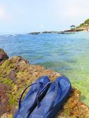 【台北】北海岸石門洞景點。美麗的貝殼砂海灘。熱門觀看夕陽&潮間帶景點:IMG_9626.JPG
